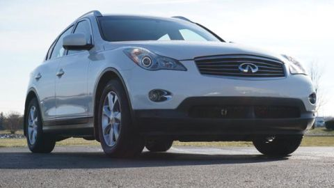 Pre-Owned 2009 INFINITI EX35 AWD 4dr Journey